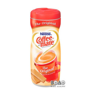 Сухі вершки Nestle Coffe-Mate, пластик банка 400 гр